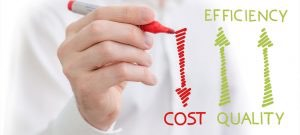 Cost Efficient Peering Management