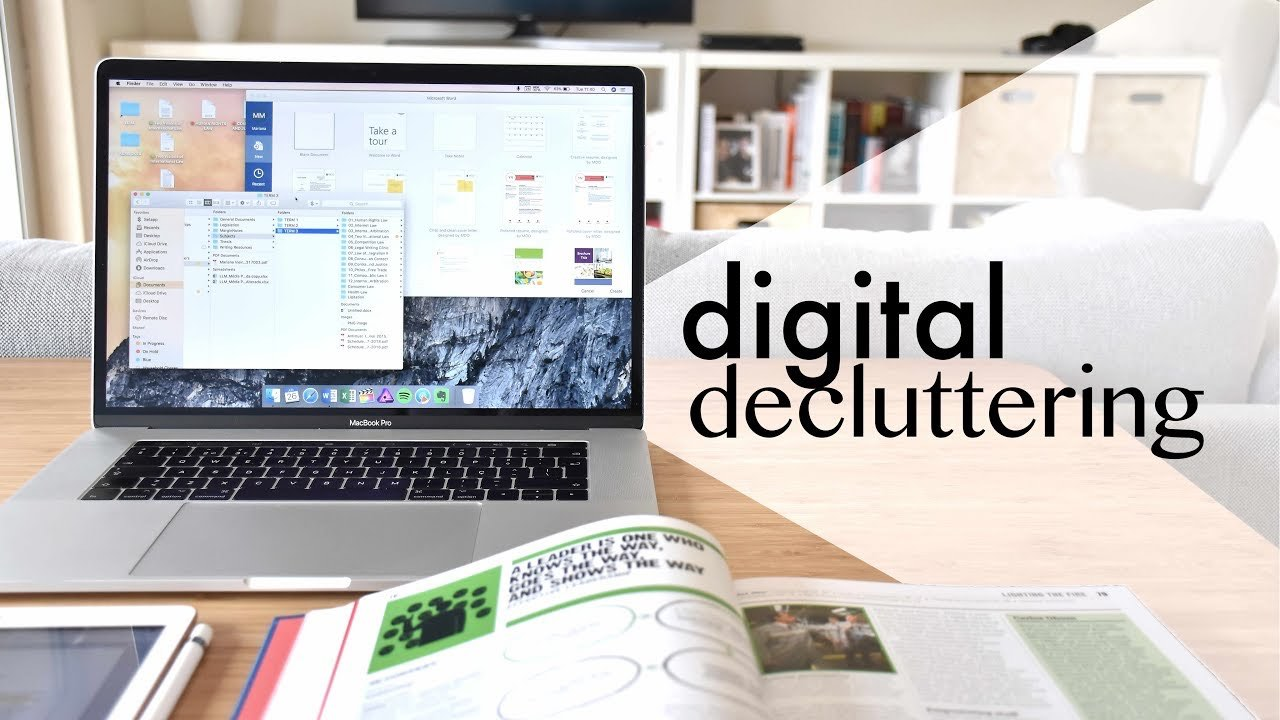 How To De-clutter Your Digital Space